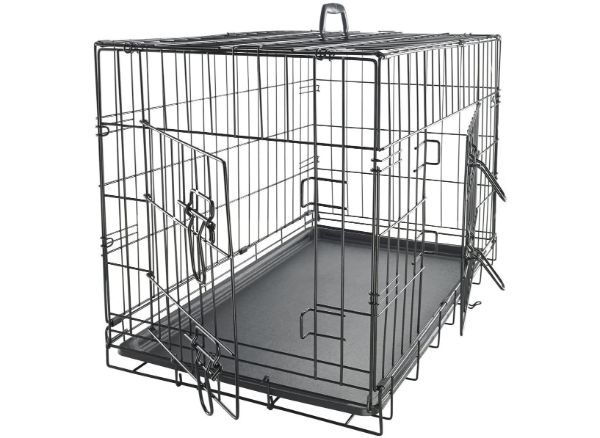 Paws and Pals Double-Door Dog Crate