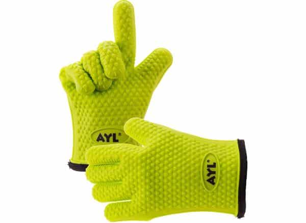 AYL Silicone Grilling, Kitchen and BBQ Gloves