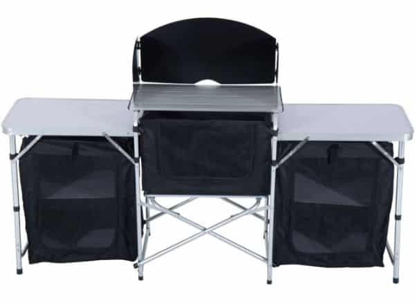 Outsunny Aluminum Portable Fold-Up Camping Kitchen