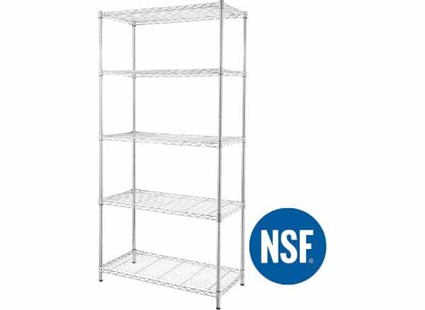 eeZe Rack Heavy Duty ETI-003 Steel Wire Storage Rack