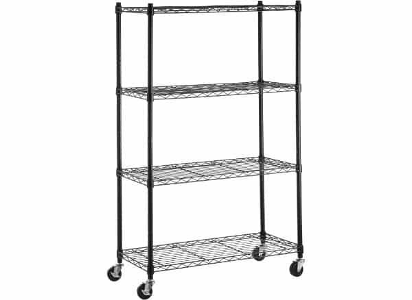 Amazon Basics 4 Shelf Shelving Storage Unit