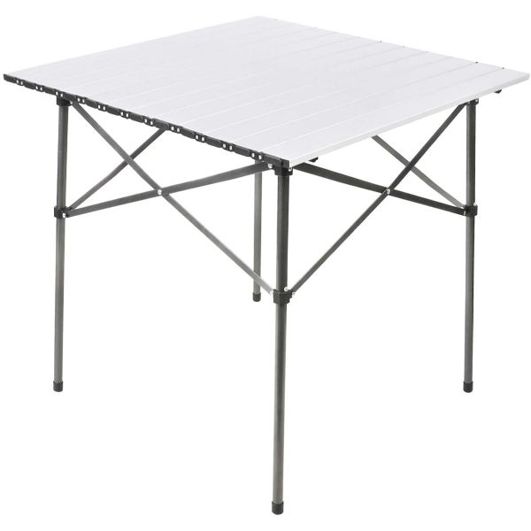 PORTAL Lightweight Aluminum Folding Square Table