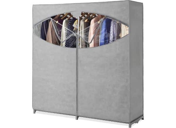 Whitmor Portable Wardrobe Clothes Storage Closet