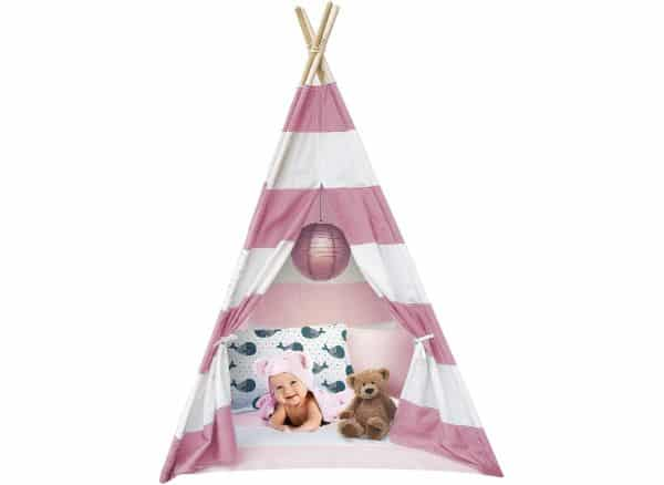 Sorbus Kids Foldable Teepee Play Tent/Playhouse
