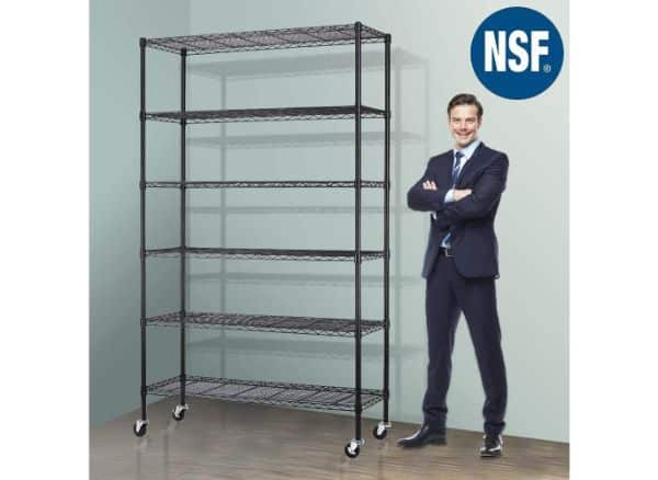 Meet Perfect Storage Metal Shelf Wire Shelving
