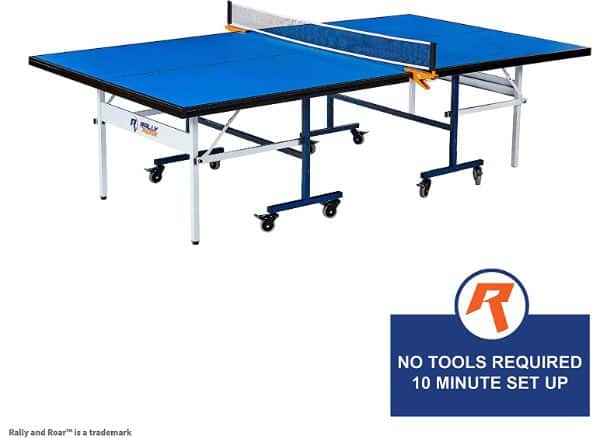 Rally and Roar Indoor 15mm Ping Pong Table