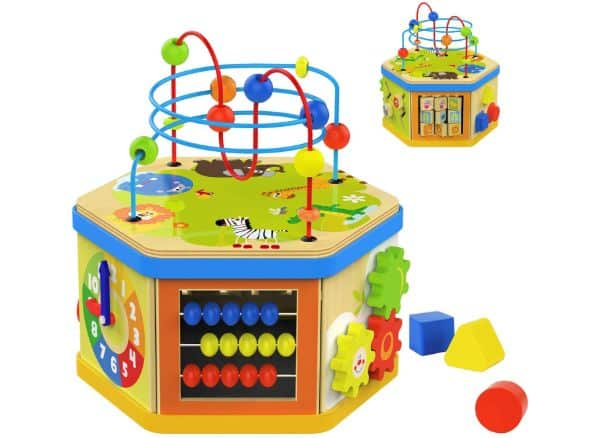 TOP BRIGHT Activity Cube Toys
