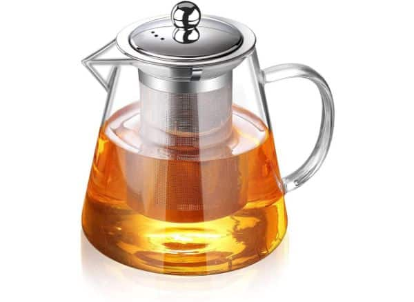 TMOST Glass Teapot with Infuser