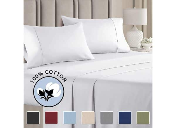 CGK Unlimited 100% Full Cotton Sheets