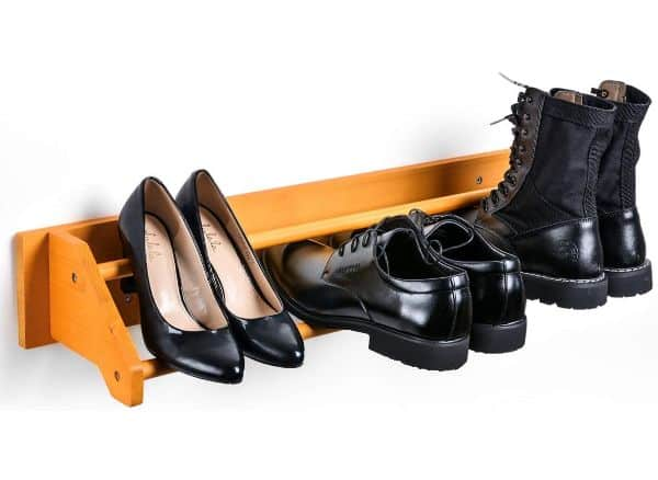 Sunix Shoe Rack/Shoe Organizer/Wall Mount Shoe Shelf