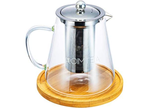 FondLove Glass Teapot with Infuser
