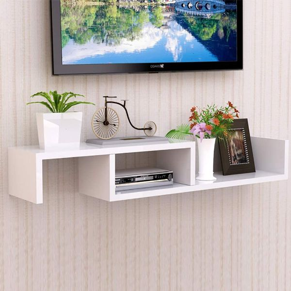 TriGold Floating TV Shelf Wall Mounted TV Stand