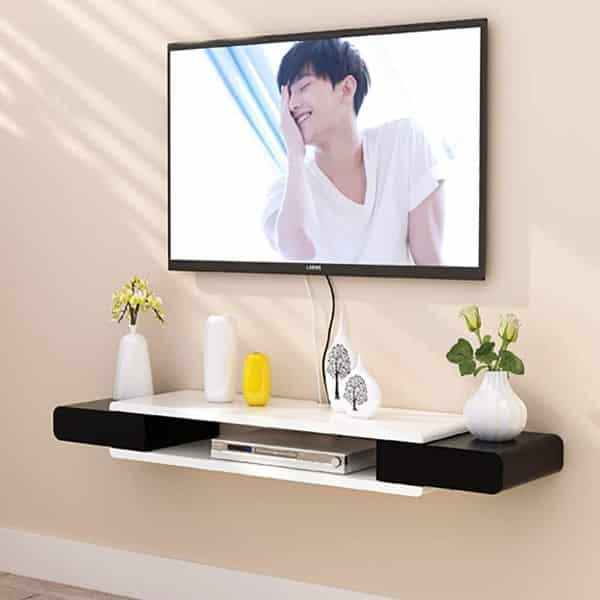 TriGold Floating TV Console 2-Tier Hanging TV Stand