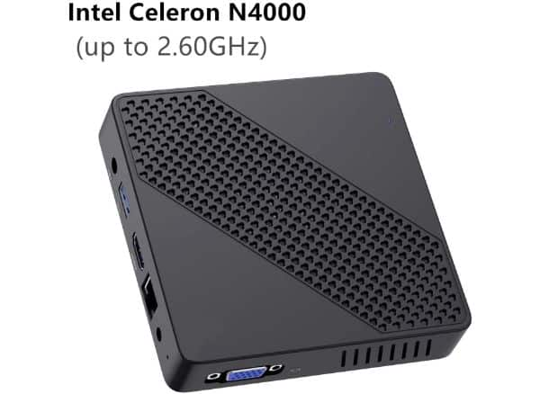 COOFUN N4000 Fanless Mini PC