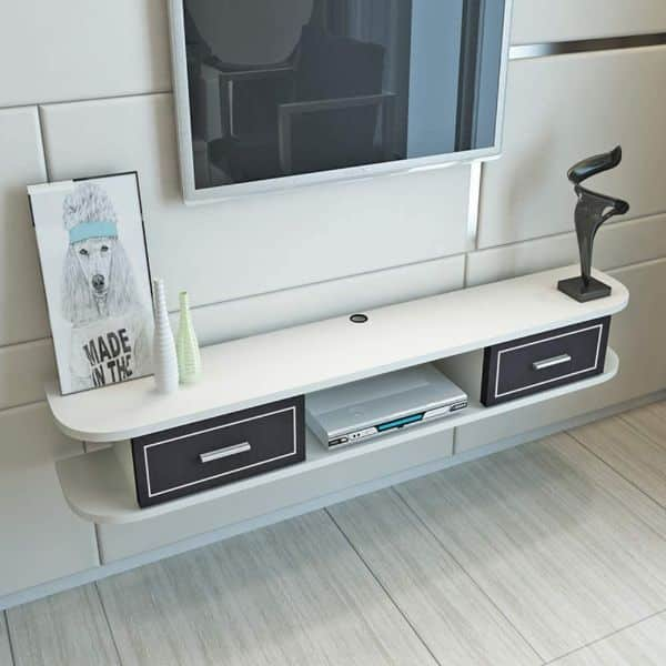 TriGold 2 Tier Floating TV Stand