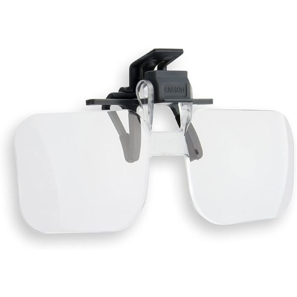 Carson Clip and Flip 1.75X Magnifying Glasses