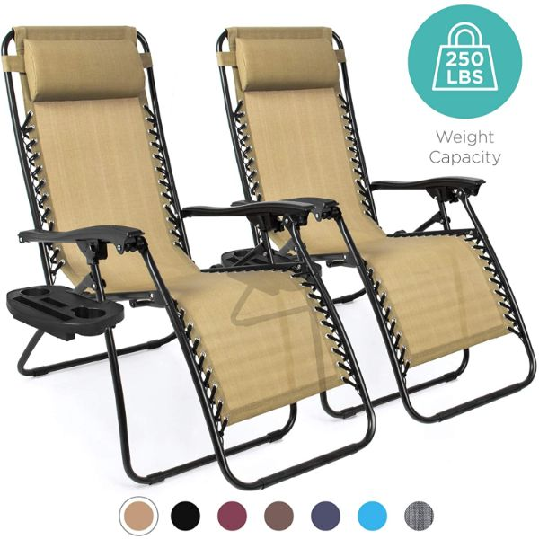 Best Choice Products Set of 2 Lounge Chairs
