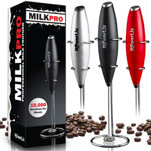 POWERLIX Handheld Milk Frother