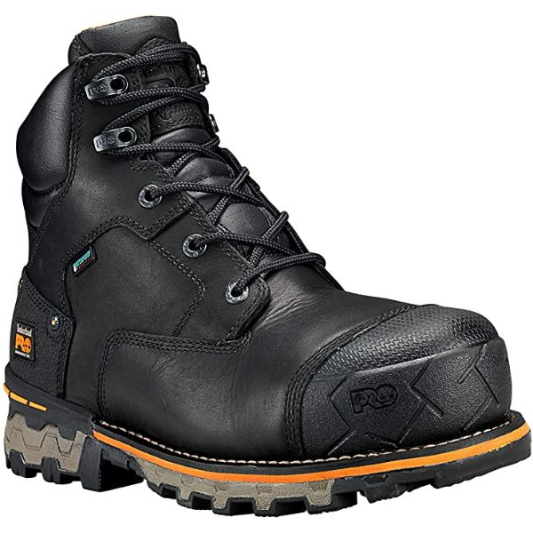 Timberland PRO Black Boondock  Composite Work Boots