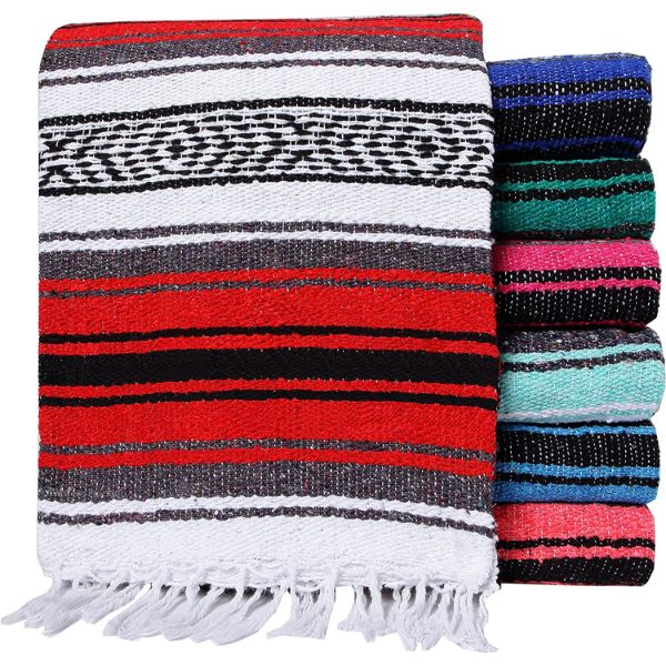 El Paso Designs Colorful Mexican Blankets