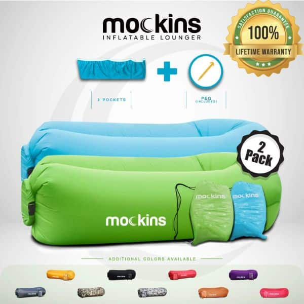 Mockins Inflatable Beach Lounge Chair