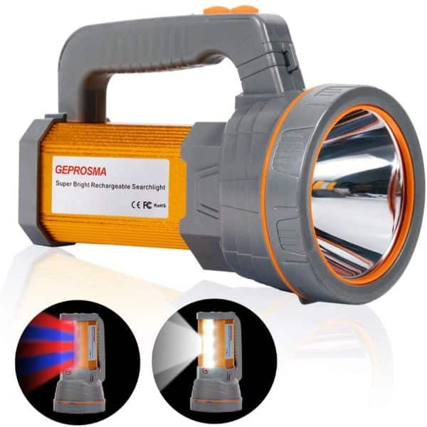 GEPROSMA Handheld Rechargeable Spotlight