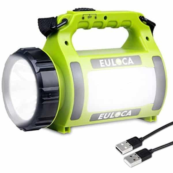 EULOCA Multifunction Rechargeable Spotlight