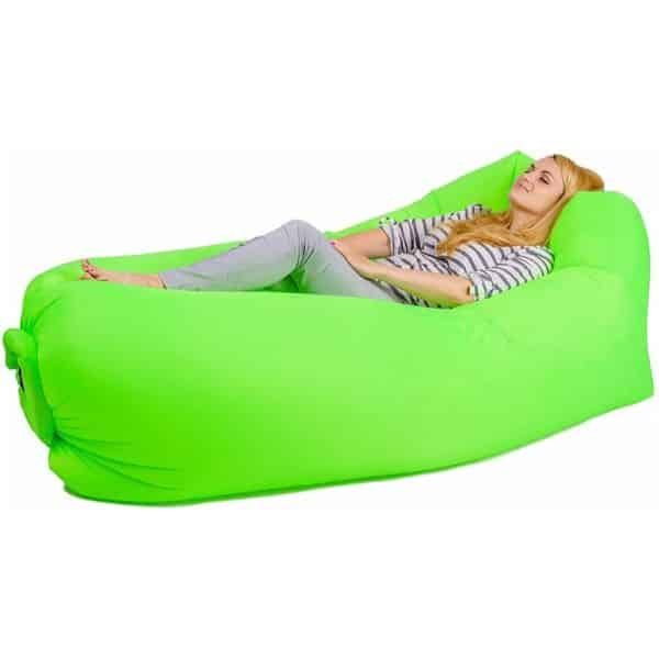 Beiruoyo Single Inflatable Beach Lounge Chair