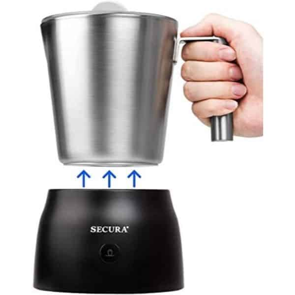 Secura 4-in-1 Electric Milk Frother