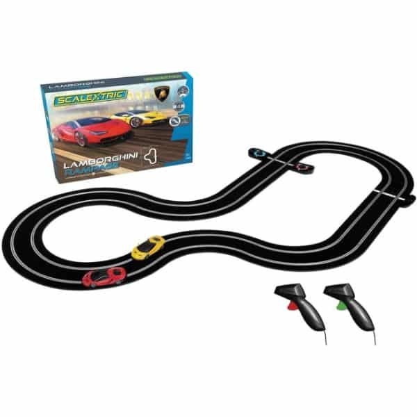 Scalextric Lamborghini C1386T  Slot Car Race Track Set
