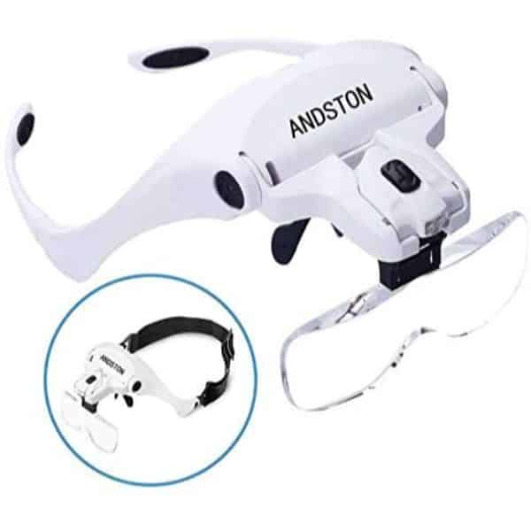 Andston Head Mount Magnifying Glasses