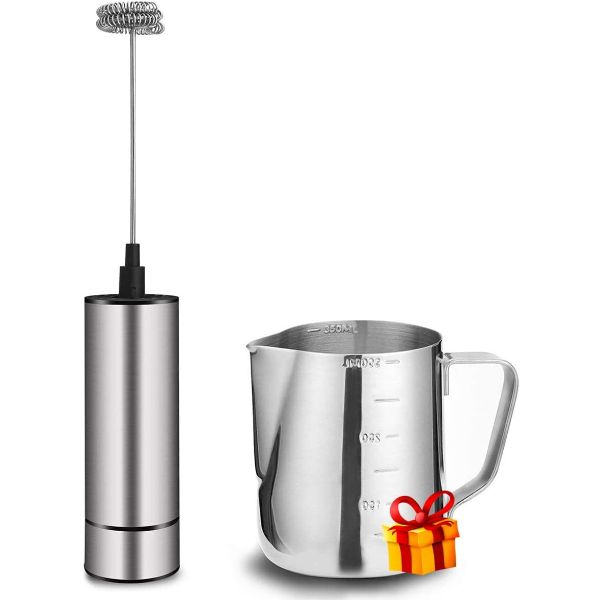 BASECENT Handheld Milk Frother