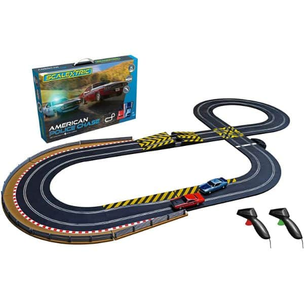 Scalextric American Police Slot Car Track Set