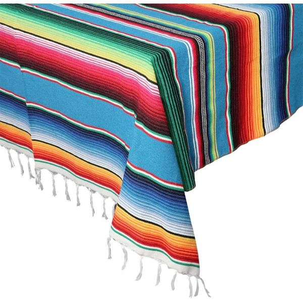 OurWarm Mexican Serape Blanket