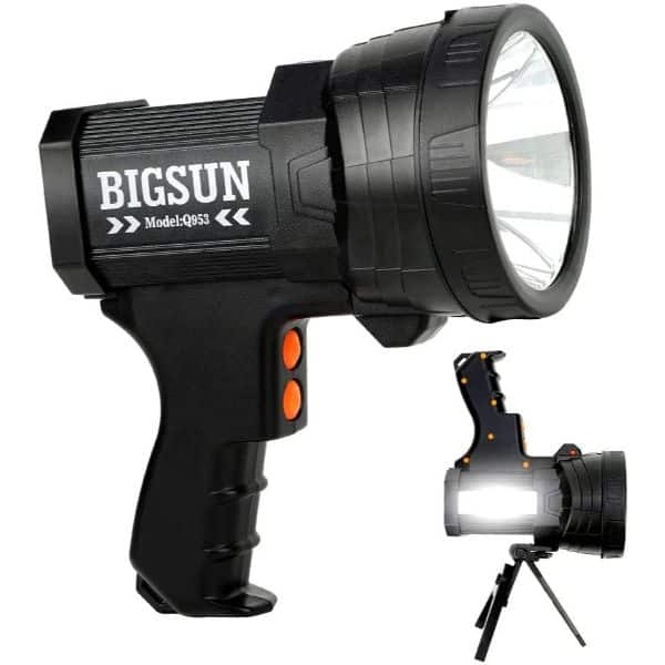 BIGSUN Q953 Rechargeable Spotlight