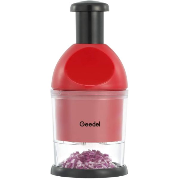 Geedel Red Food Chopper