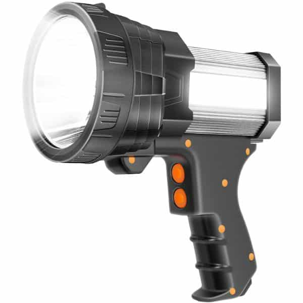 GLANDU Super Bright Rechargeable Spotlight