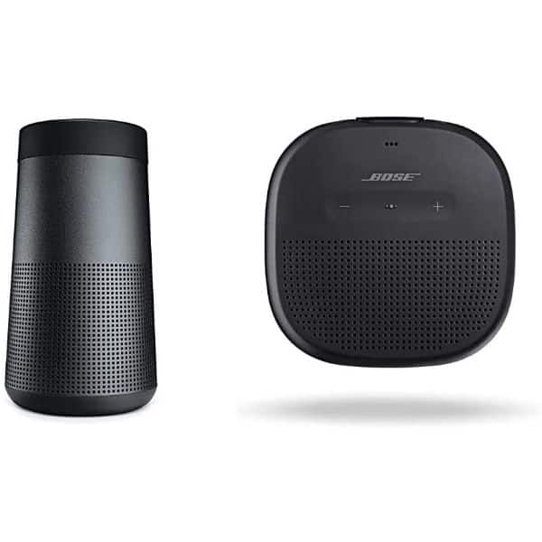 BOSE SoundLink Revolve & Micro Wireless Surround Speaker