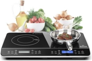 LCD Portable Double Induction Cooktop
