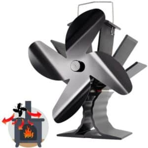 Powered Stove Fan