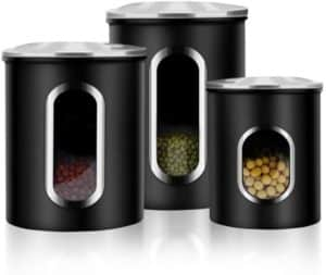 canisters with windows