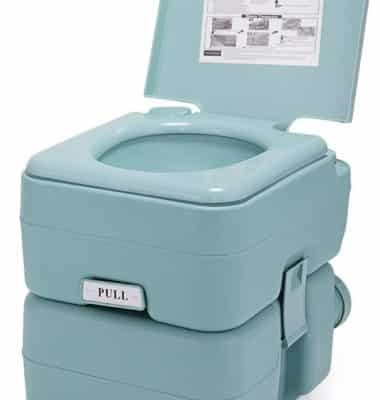 Travel Toilet for Camping