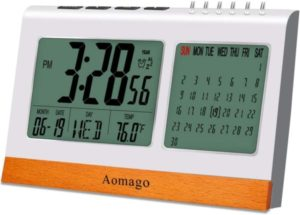 Digital Alarm Clock Battery Operated for Bedrooms