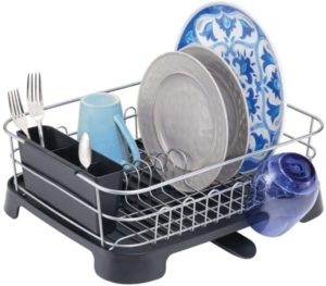 dish drainers and rack