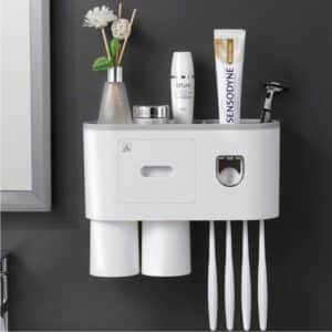 accessories storage for toilet