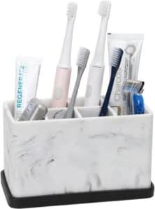 toothbrush storage
