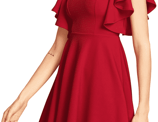 Romwe Women Red Dresses