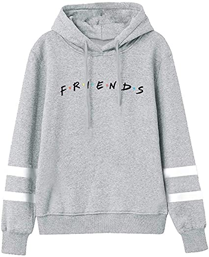 LHAYY Friend Cropped Hoodies
