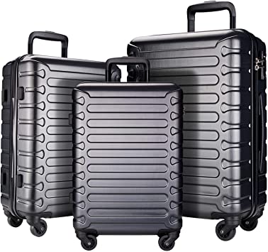 SHOWKOO 3 Piece Luggage Sets