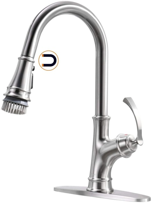 APPASO Single Handle Pull Down Kitchen Faucet